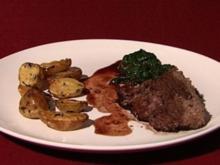 Brasato - Toskanischer Rinderschmorbraten an Rotweinjus mit Mangold (Annina Ucatis) - Rezept