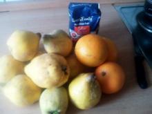 Quitten-Orangengelee - Rezept