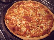 Pizza Pesto rosso - Rezept