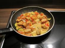 Blitzrezept: Puten-Gemüse-Pfanne mit Curry - Rezept