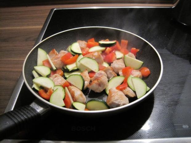Blitzrezept: Puten-Gemüse-Pfanne mit Curry - Rezept - Bild Nr. 3