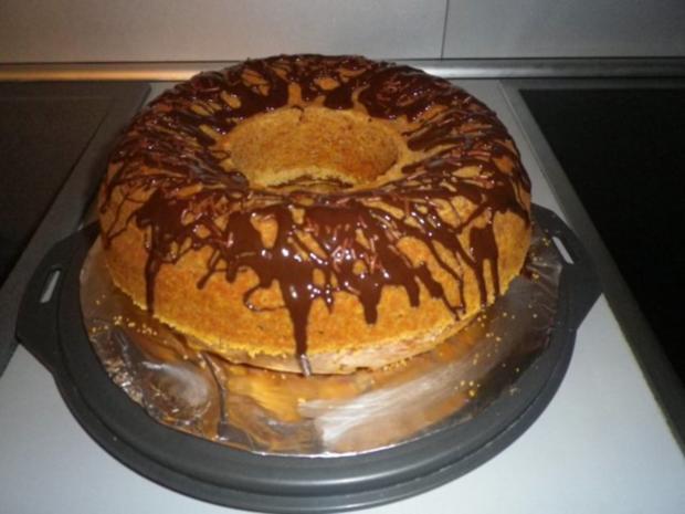 Sahne - Nuss - Kuchen - Rezept - Bild Nr. 2
