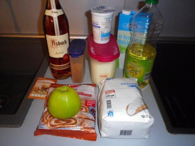 Sahne - Nuss - Kuchen - Rezept - Bild Nr. 5