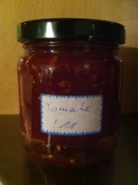 Konfitüre aus reifen Tomaten - Rezept