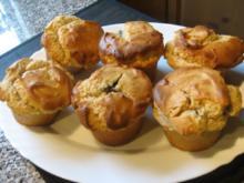 Erdnussmuffins mit Schokokern - Rezept