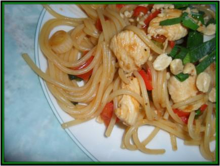 Fernöstliches Wok-Gericht - Rezept