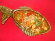 Fisch : Marmitako de bonito - Rezept