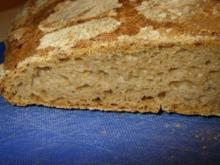 Roggenmischbrot mit Buttermilch und Sauerteig - Rezept
