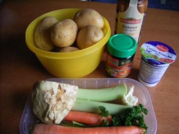 Ela's cremige Kartoffelsuppe - Rezept