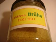 Gekörnte Brühe - Rezept