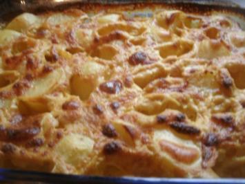 Parmesan-Orangensahnekartoffeln - Rezept