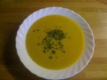 Leo´s Kürbis-Creme-Suppe - Rezept