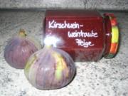 Kirschwein-Weintrauben-Feigen-Marmi - Rezept