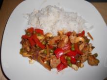 Chicken Kung Pao - Rezept