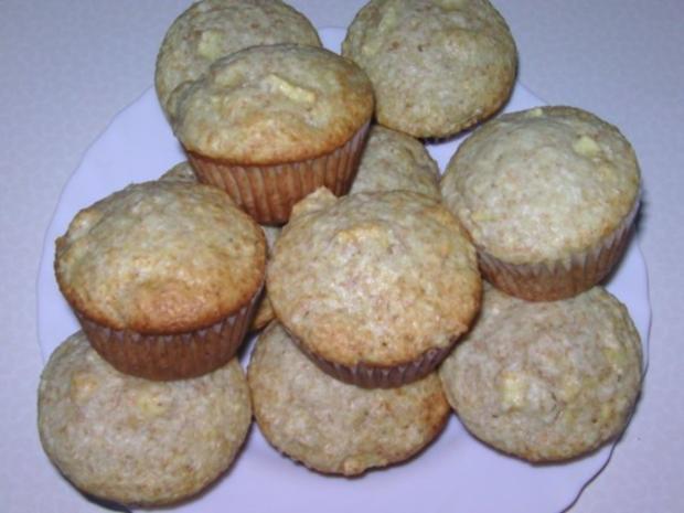 Apfel-Kokos-Muffins - Rezept
