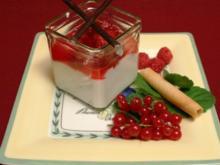 Stippmilch mit beschwipsten Früchten - Rezept