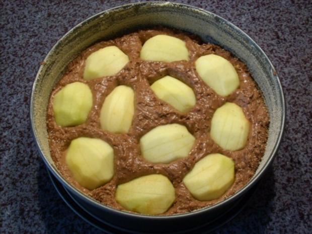 Apfel-Brownie-Tarte - Rezept - Bild Nr. 2