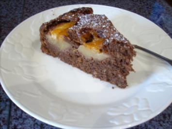 Apfel-Brownie-Tarte - Rezept