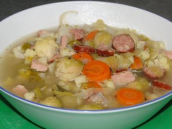 Eine Gemüsesuppe für die kalten Tage - Rezept