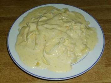 Rezept: schnelle Käsesahnesoße