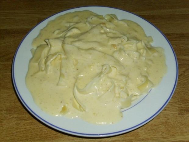schnelle Käsesahnesoße - Rezept