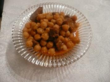 Kichererbsen Eintopf - Nohut yemegi - Rezept