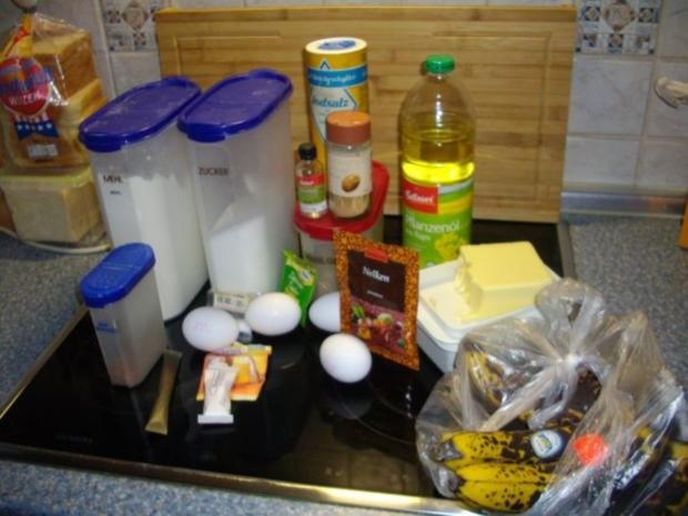 Fränkischer Bananenkuchen - Rezept - Bild Nr. 3