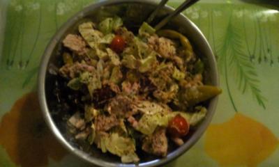 Fischsalat pikant a la Nightcooker - Rezept
