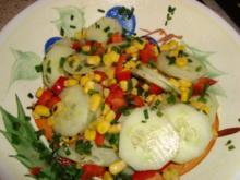schneller Beilagensalat mit Schnittlauch - Rezept
