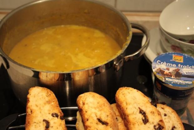 Suppe: Kürbis-Sellerie-Cremesuppe - Rezept - Bild Nr. 4