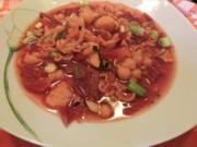 Schnelle Rote Bete Hochzeitssuppe mit Zucchini - Rezept