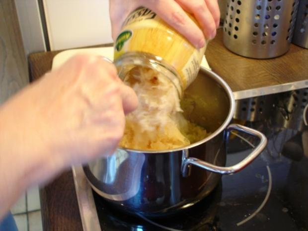 Schäufele mit Sauerkraut und Knödel - Rezept - Bild Nr. 17