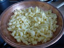 Pasta : Fixe Spätzle nach Schnautze - Rezept