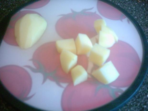 Hackbällchen mit Kartoffeln in Soße - Rezept - Bild Nr. 9