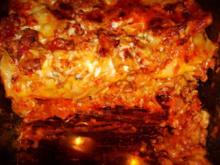 feurige Lasagne - Rezept
