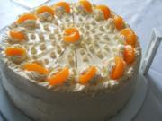 Mandarinen-Buttercrem-Torte - Rezept