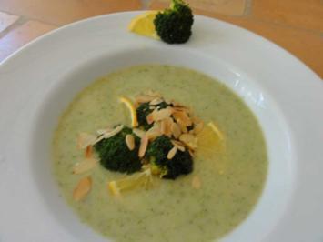 Broccoli-Orangen-Süppchen - Rezept