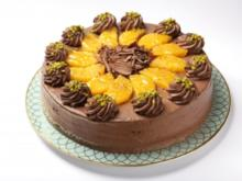 Schoko-Torte mit Orangen - Rezept