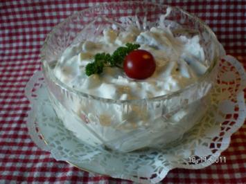 Mein Matjessalat mit Äpfel und Zwiebeln - Rezept