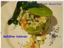 Gefüllter Kohlrabi mit Risotto - Rezept