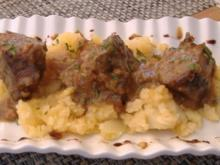 Ochsenschwanz mit Kartoffeln - Rezept