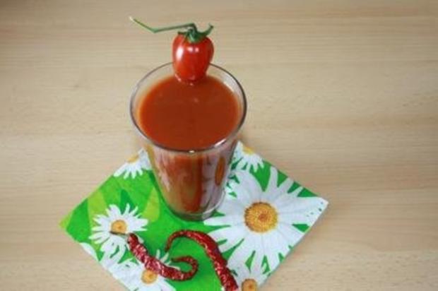 scharfer Tomatensaft - Rezept - Bild Nr. 3