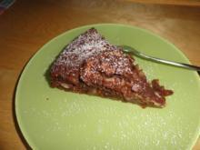 Schoko-Apfel-Mandelkuchen - Rezept
