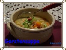 Gerstensuppe - Rezept