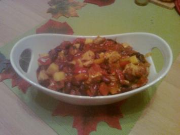 Red Hot Chilli Kidney Salat - Rezept