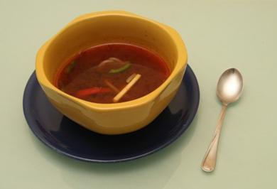 Feierabendsuppe - chinesische Art - Rezept