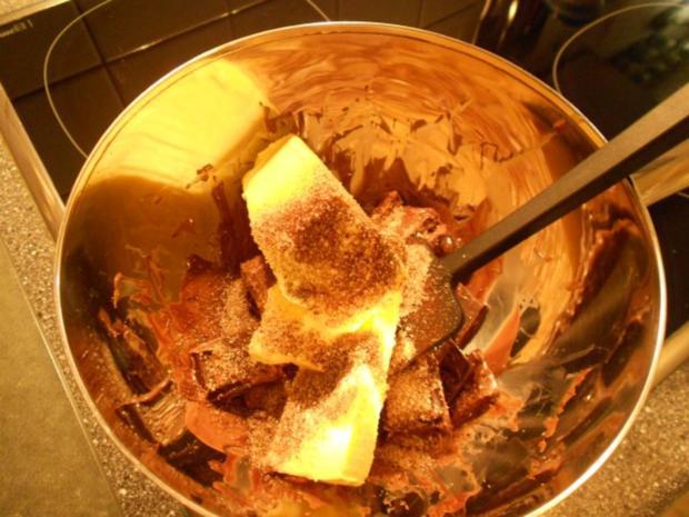 Schokotraum-Kuchen mit Puddingschaumhaube, gut als Nachtisch geeignet! - Rezept - Bild Nr. 5
