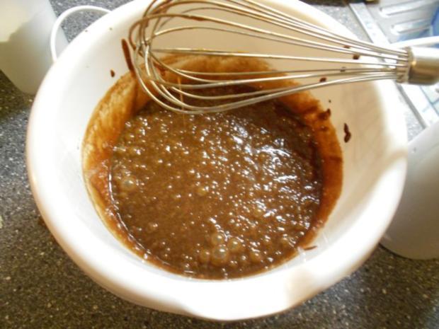 Schokotraum-Kuchen mit Puddingschaumhaube, gut als Nachtisch geeignet! - Rezept - Bild Nr. 10