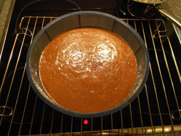 Schokotraum-Kuchen mit Puddingschaumhaube, gut als Nachtisch geeignet! - Rezept - Bild Nr. 14