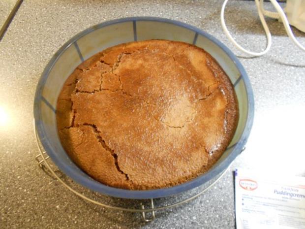 Schokotraum-Kuchen mit Puddingschaumhaube, gut als Nachtisch geeignet! - Rezept - Bild Nr. 16